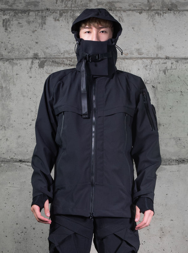 W001-J HUNTER SHELL JACKET | Uniden - The Techwear Collective
