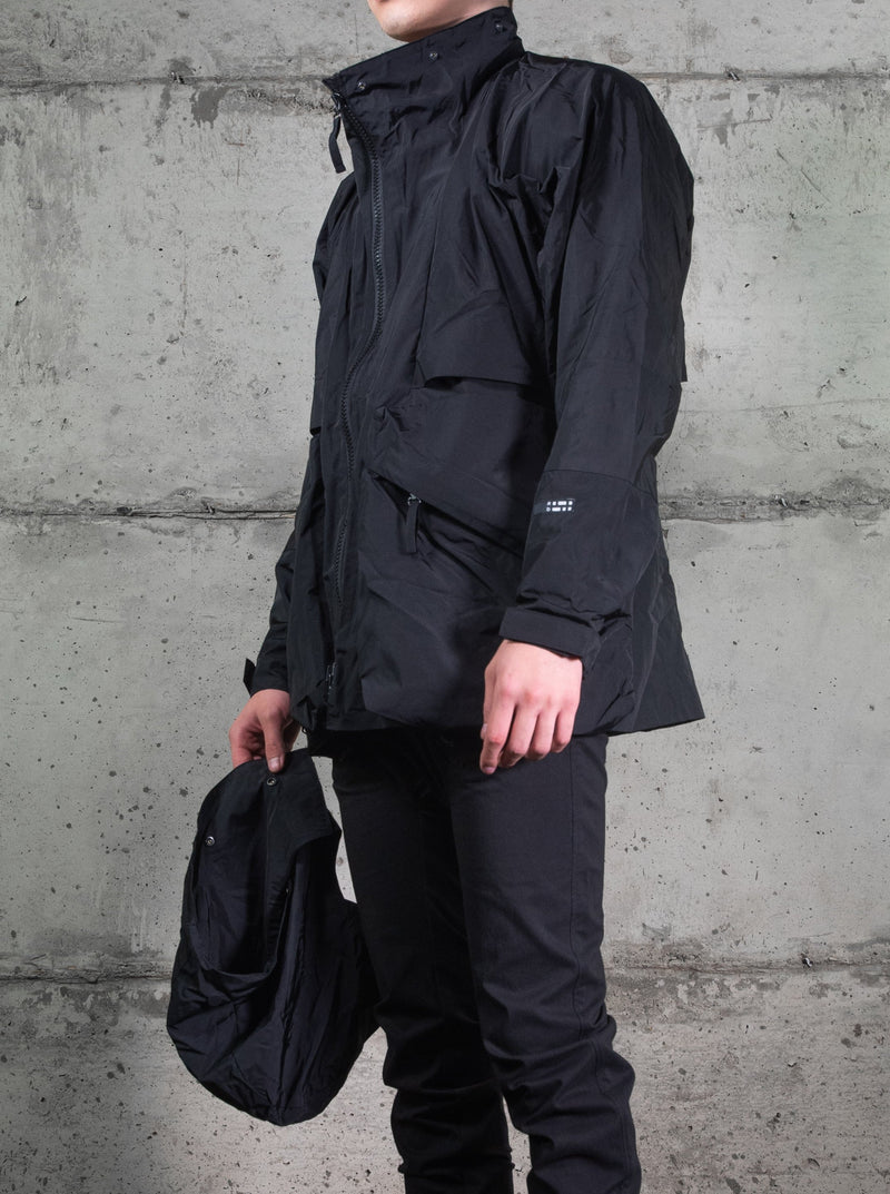 NULLUS JACKET BLACK | Uniden - The Techwear Collective