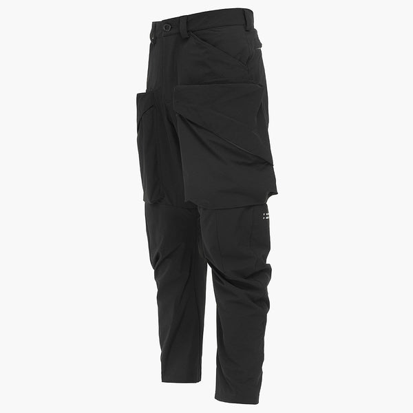 NULLUS PANTS BLACK | Uniden - The Techwear Collective