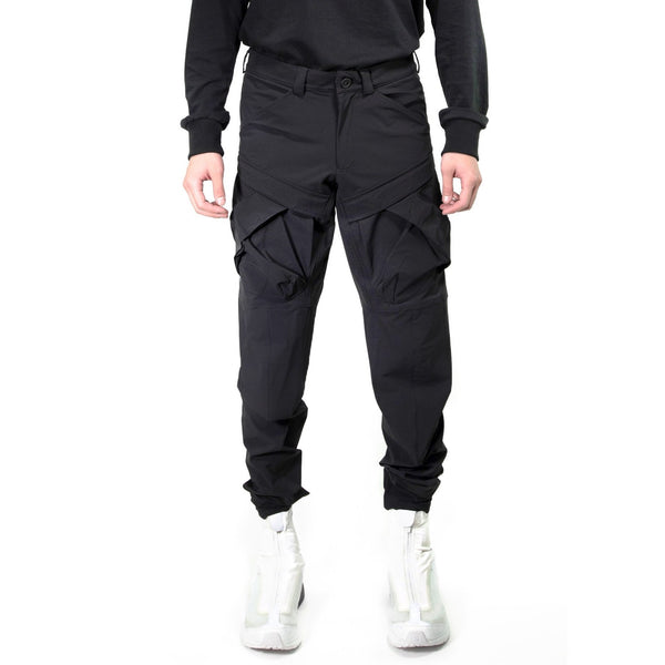 2 POCKETS PANTS MODIFIED 020 BLACK | Uniden - The Techwear Collective
