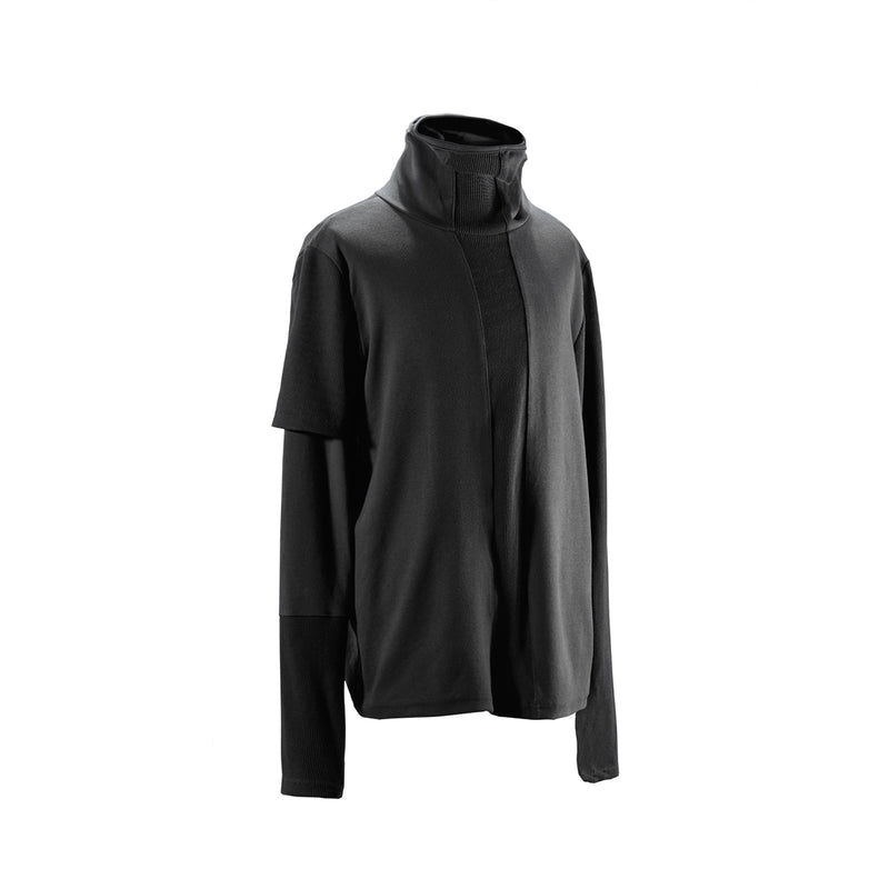 Tristan Deconstructed Turtleneck - Uniden