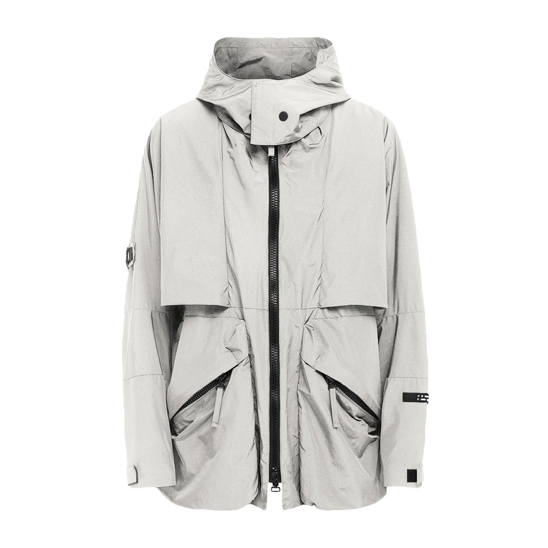 FINAL SALE: NULLUS JACKET GREY | Uniden - The Techwear Collective