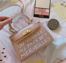 Load image into Gallery viewer, The Clear Handbag ( Transparent jelly Bag )
