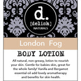 Delish Naturals Body Lotion