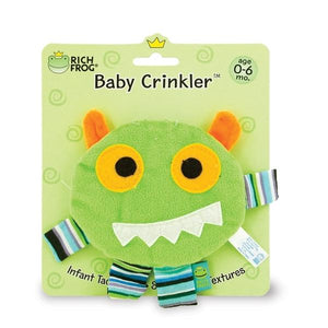 Crinkle Monster Baby Toy