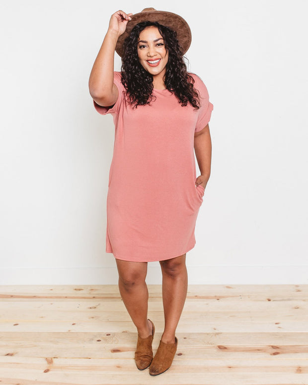 Cameron Relaxed T-Shirt Dress | S-XL