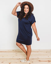Skylar Relaxed T-Shirt Dress | S-3XL