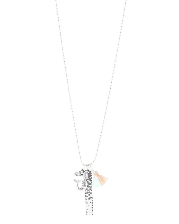 Free Mermaid Charm Necklace