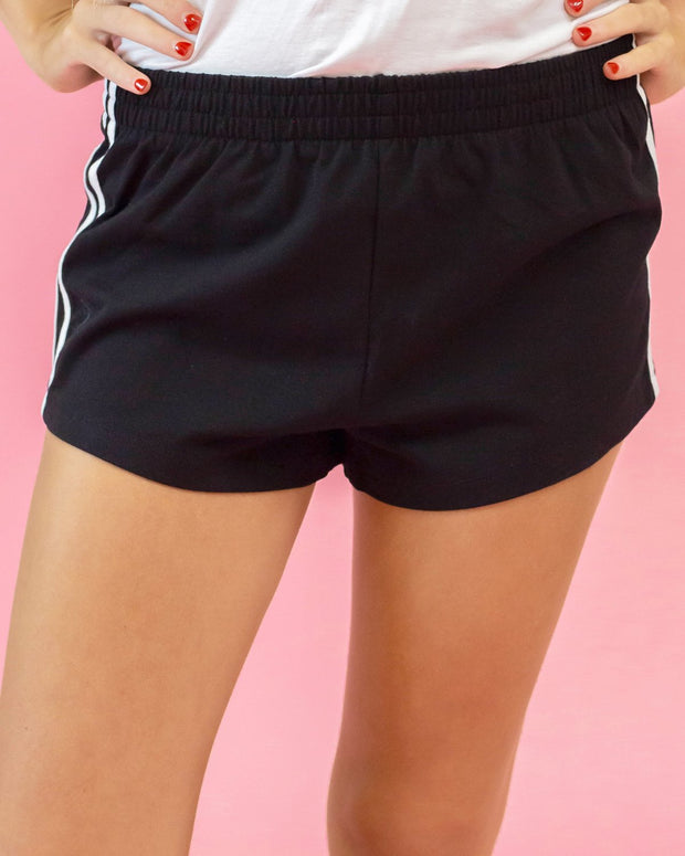 Margo Cotton Stripe Shorts | S-L
