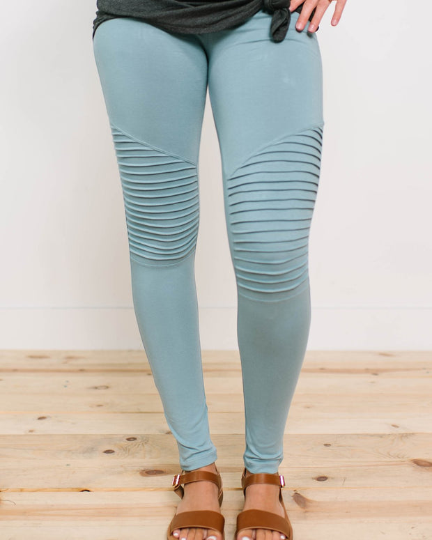 Shaynae Moto Jeggings | S-3XL