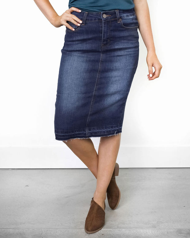 Lydia Denim Skirt | S-L