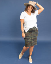 Lydia Denim Skirt | 1XL-3XL