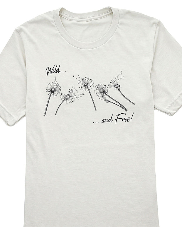 Wild and Free Graphic T-Shirt | S-3XL