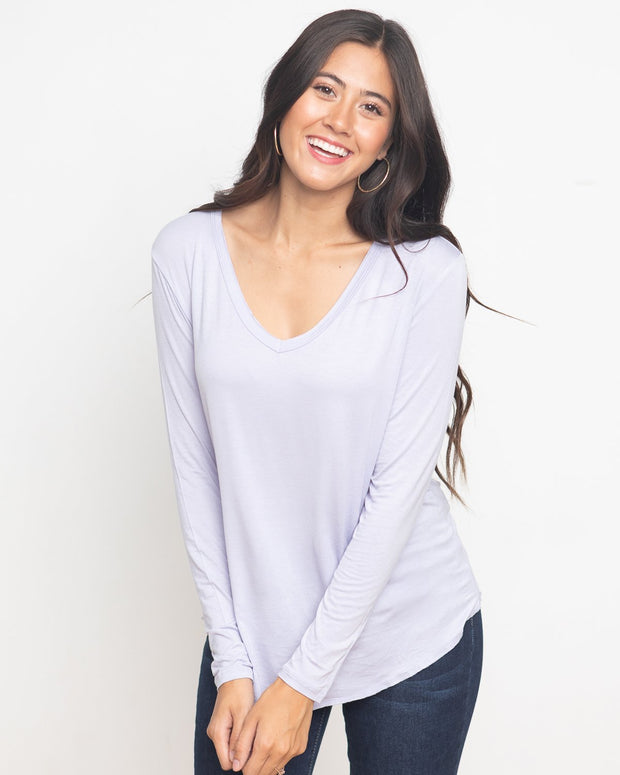 Elizabeth Long Sleeve T-Shirt | S-L