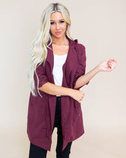 Andrea Hooded Lightweight Jacket | S-L