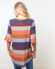 Pippi Color Block Top | S-XL