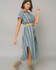 Danny Button Up Maxi Dress | S-XL