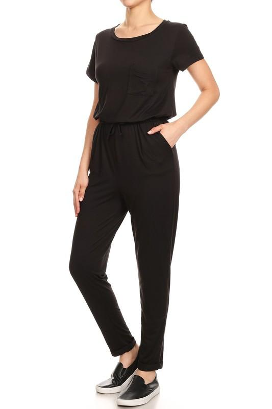 MaKell Black Jumpsuit