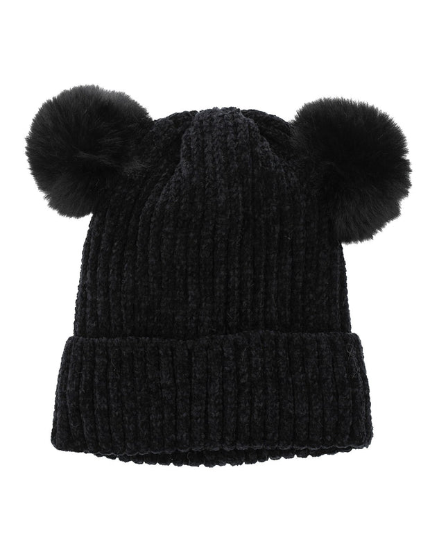 Chris Double-Pom Beanie | One Size