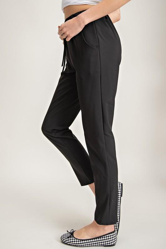The Emme Solid Stretch Pants
