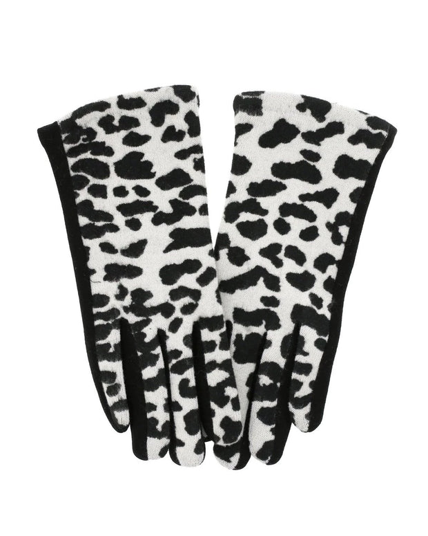Edna Animal Print Gloves | One Size