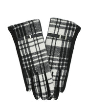 Ethel Plaid Gloves | One Size