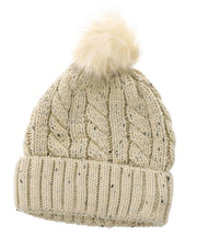 Serenity Hat with Pom Pom | One Size