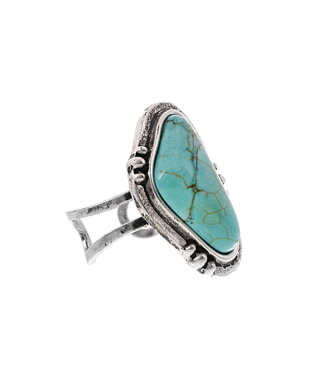 Whitley Turquoise Ring