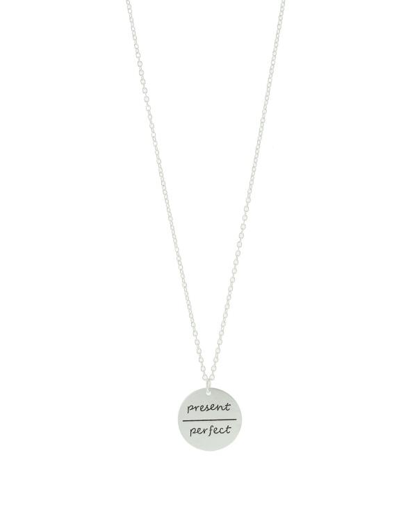 Present Perfect Disc Tribe Necklace