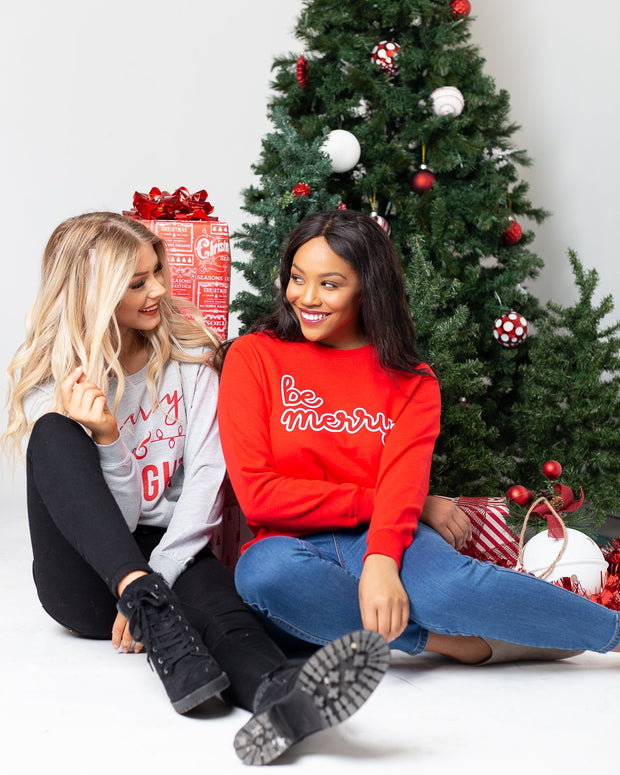 Be Merry Graphic Sweatshirt | S-3XL