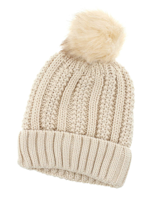 Cooper Cable Knit Beanie | One Size