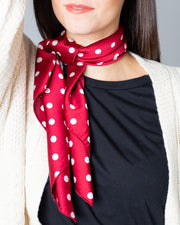 Addison Polka Dot Neckerchief