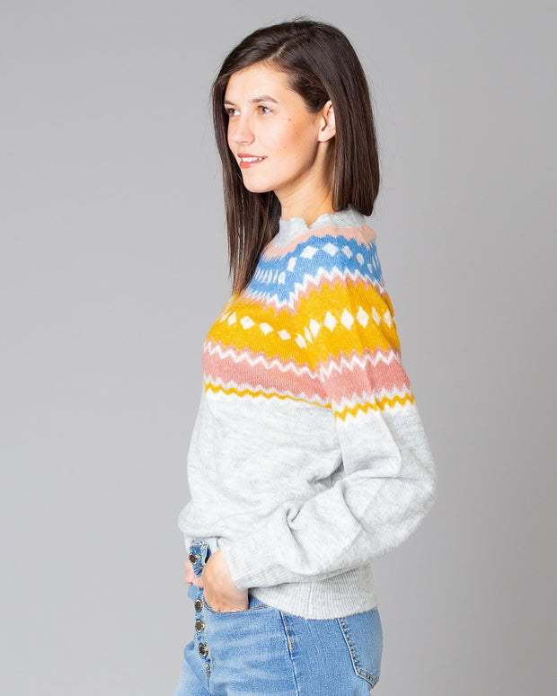 Estelle Nordic Sweater | One Size