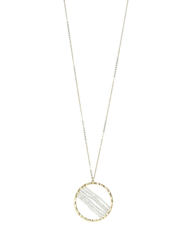 Sariah Round Beaded Necklace
