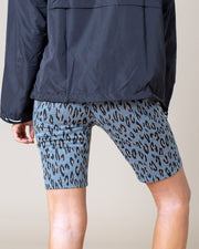 Doris Leopard Print Bike Shorts | S-L