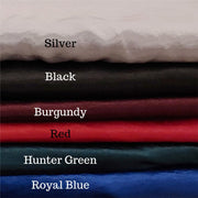 Luxury Crushed Satin Pillowcase - 8 Colors!