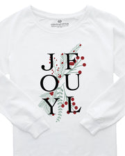 Joyful Graphic Sweatshirt | S-3XL