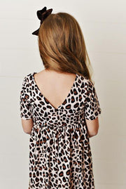 Leopard Twirl Dress