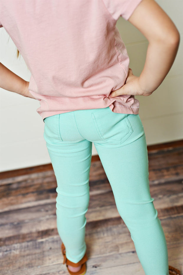 Softest Stretchy Pant - Mint