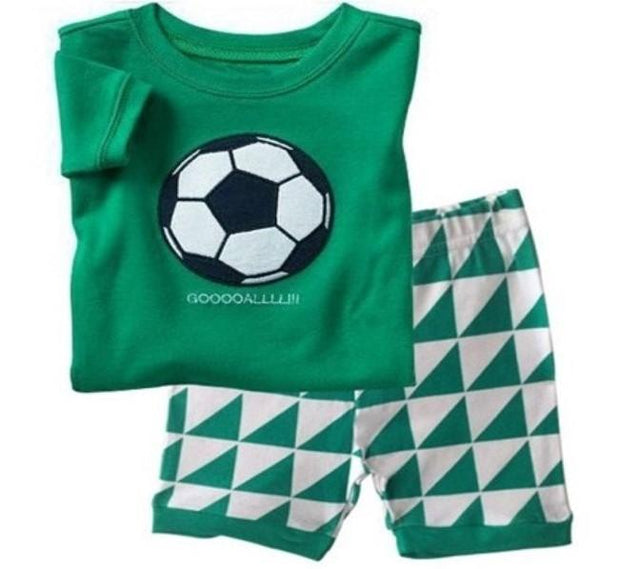 Pajamas - Soccer Ball 2T Only