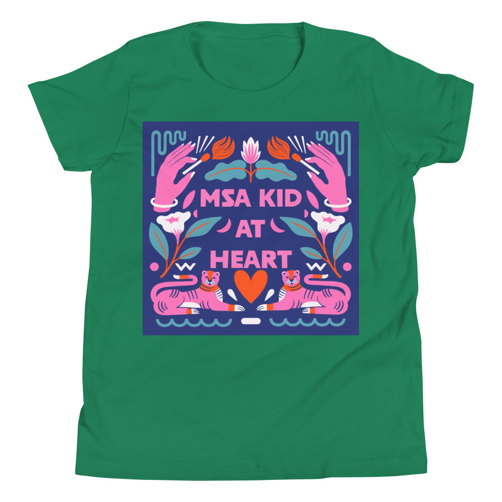 MSA Kid at HEART Youth Short Sleeve T-Shirt