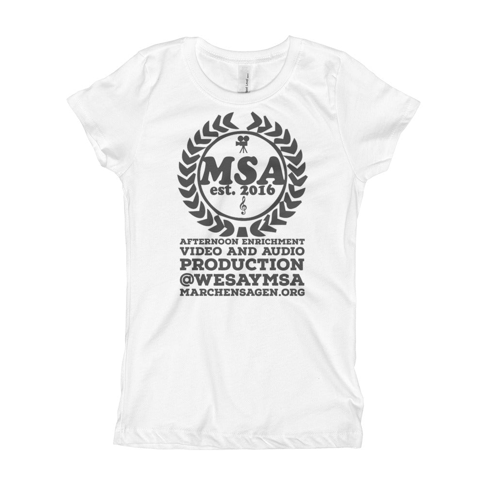 Girl's Slim-Fit MSA T-Shirt