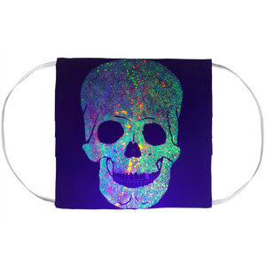 Glowing Skull Face Mask Cover