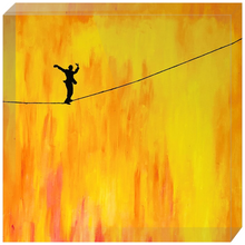 Load image into Gallery viewer, Tightrope Acrylic Block