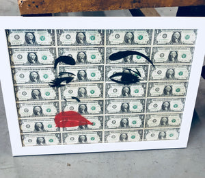 Money Series: Eyes On The Prize Print