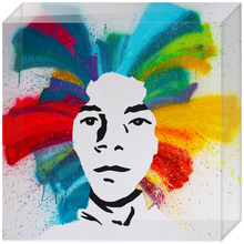 Load image into Gallery viewer, Basquiat Acrylic Block