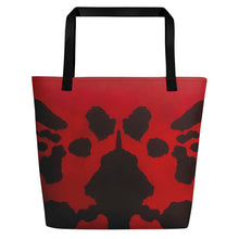 Load image into Gallery viewer, Ink Blot Art Bag