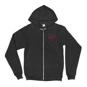 Love Zip Up Hoodie