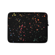 Load image into Gallery viewer, Paint Splatter Laptop Sleeve