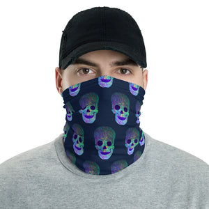 Glowing Skulls Face Mask